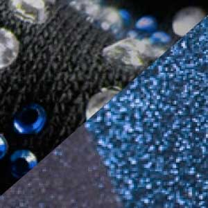 heat transfer rhinestones glitter